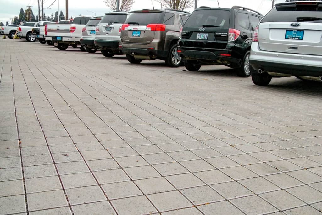 Park Permeare Pewter & Charcoal Parking Lot